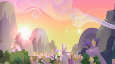 Sunrise_over_Ponyville_S2E03